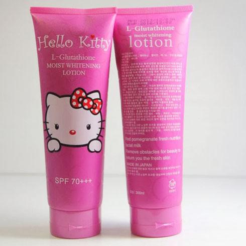 Kem dưỡng trắng da Hello Kitty