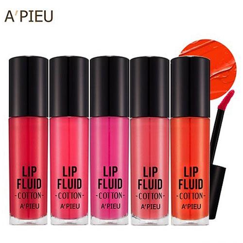 Son A'pieu Cotton Lip Fluid Hàn Quốc