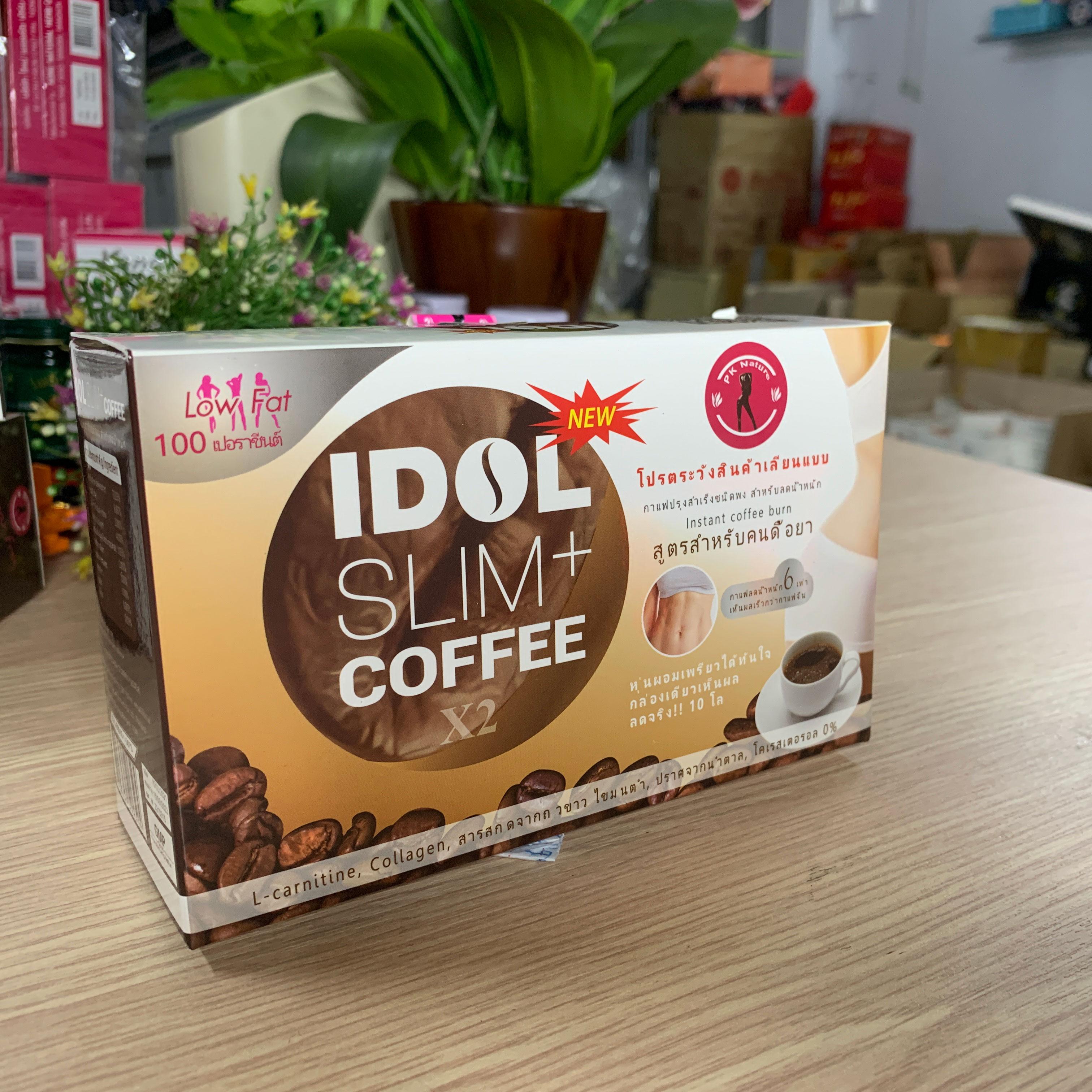 Giảm Cân Cà Phê Queen Slim Coffee Thái Lan Chính Hãng