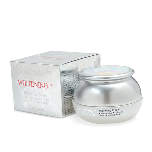 Kem Dưỡng Trắng Da Chính hãng Hàn Quốc Bergamo Whitening EX Cream