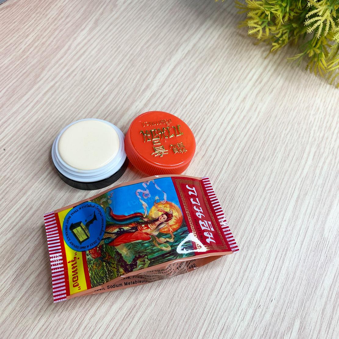 Kem Ngọc Trai Trị Mụn Và Dưỡng Trắng Da Quan Âm Kuan Im Thái Lan