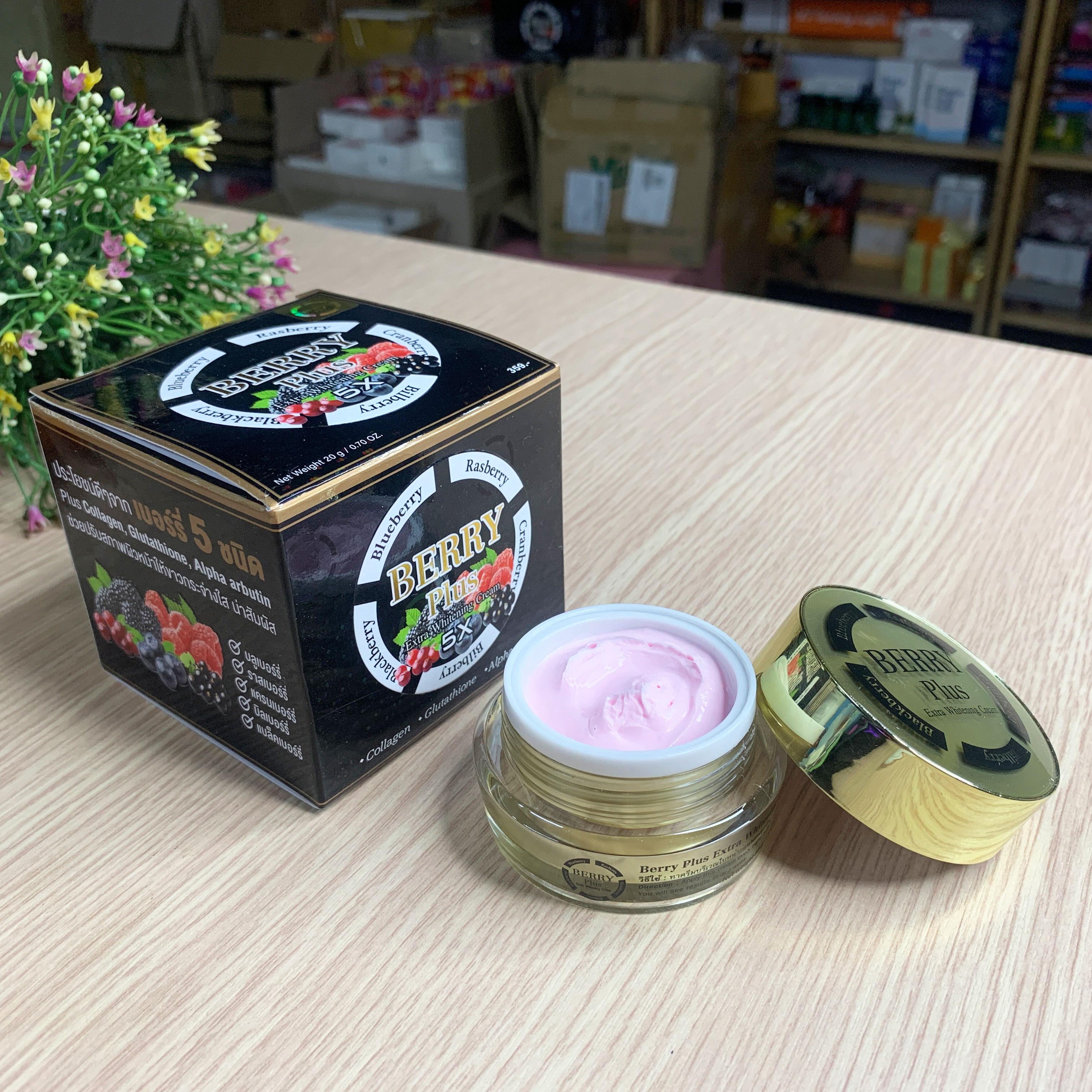 Kem Trị Nám Berry Plus Extra Whitening Cream Thái Lan