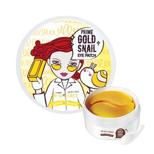 Mặt Nạ Mắt DewyTree Prime Gold Snail Eye Patch  Hàn Quốc