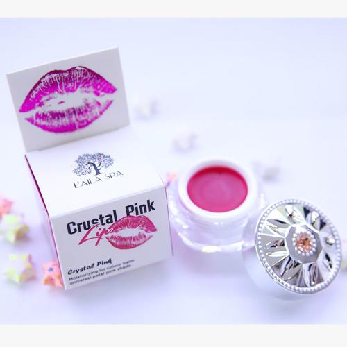 Son dưỡng trị thâm môi Laila Crystal Pink Lip Thái Lan