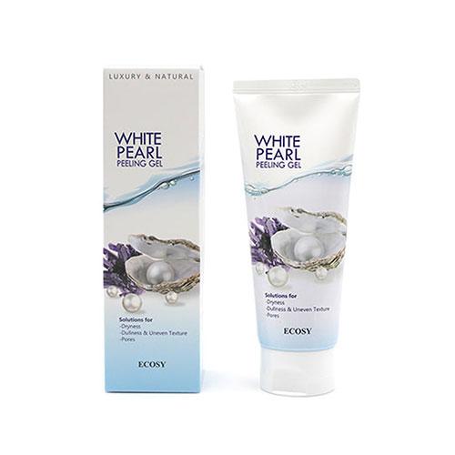Tẩy Tế Bào Chết White Pearl Peeling Gel Ecosy 150ml Hàn Quốc