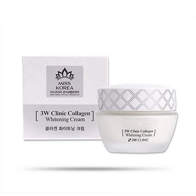Kem Dưỡng Trắng Da 3W Clinic Collagen Whitening Cream