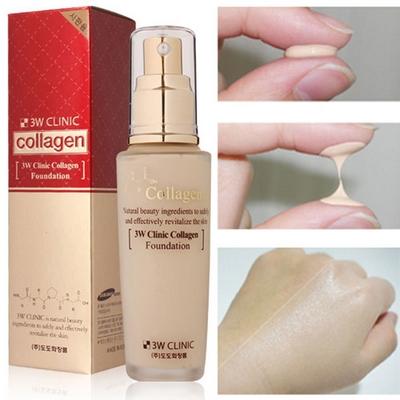 Kem Nền Trang Điểm Collagen 3W Clinic Hàn Quốc