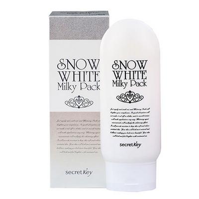 Kem Tắm Trắng Snow White Milky Pack Hàn Quốc