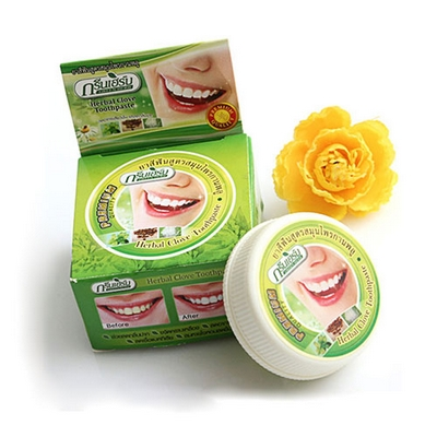 Kem Trắng Răng Herbal Clove Toothpaste Thái Lan