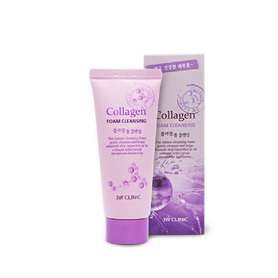 Sữa Rửa Mặt Collagen Foam Cleansing 3W Clinic