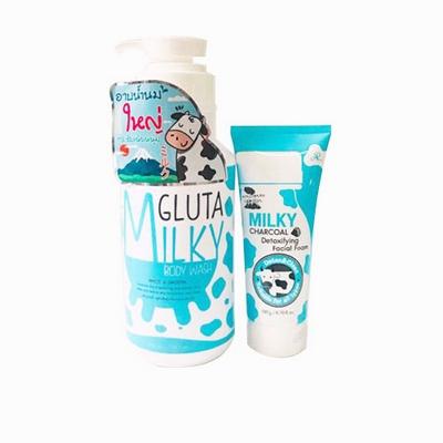 Sữa Tắm Milky Gluta Tặng Kèm Sữa Rửa Mặt Milky Gluta Thái Lan