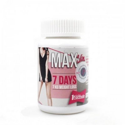 Thuốc Giảm Cân Max Slim 7 Days Chính Hãng Thái Lan