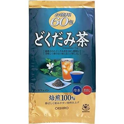Trà Diếp Cá Thải Độc Mát Gan Orihiro Dokudami Tea Nhật Bản