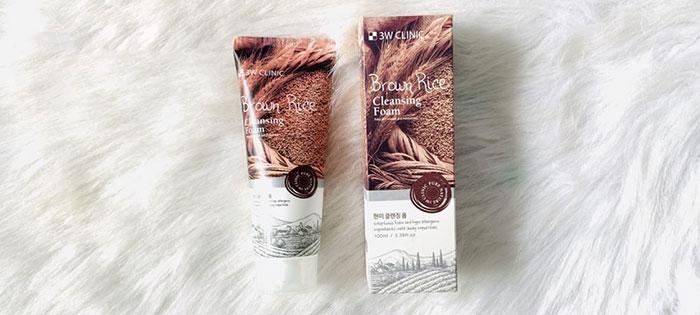sua-rua-mat-chiet-xuat-tu-gao-3w-clinic-brown-foam-cleansing-100ml-4986