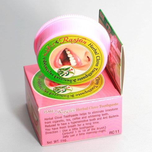 Tẩy  trắng răng ISME RasYan Thái Lan