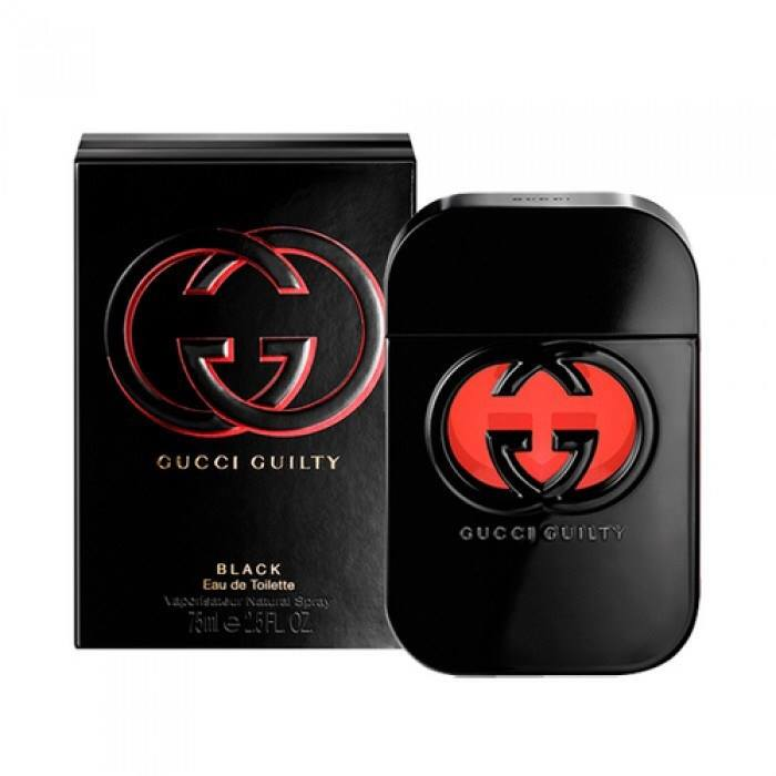 Nước hoa nữ Gucci Gulity Black , 75 ml EDT