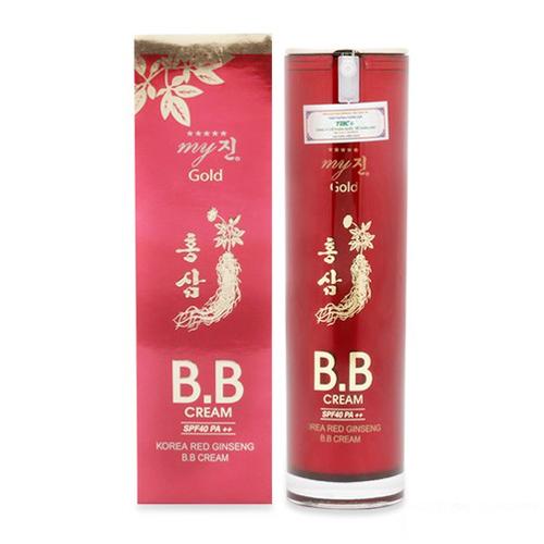 Kem Nền BB Cream Hồng Sâm Đỏ My gold Hàn Quốc