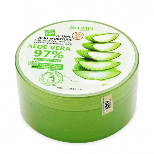 Gel Dưỡng Ẩm Blumel Jeju Aloe Vera 97% Hàn Quốc