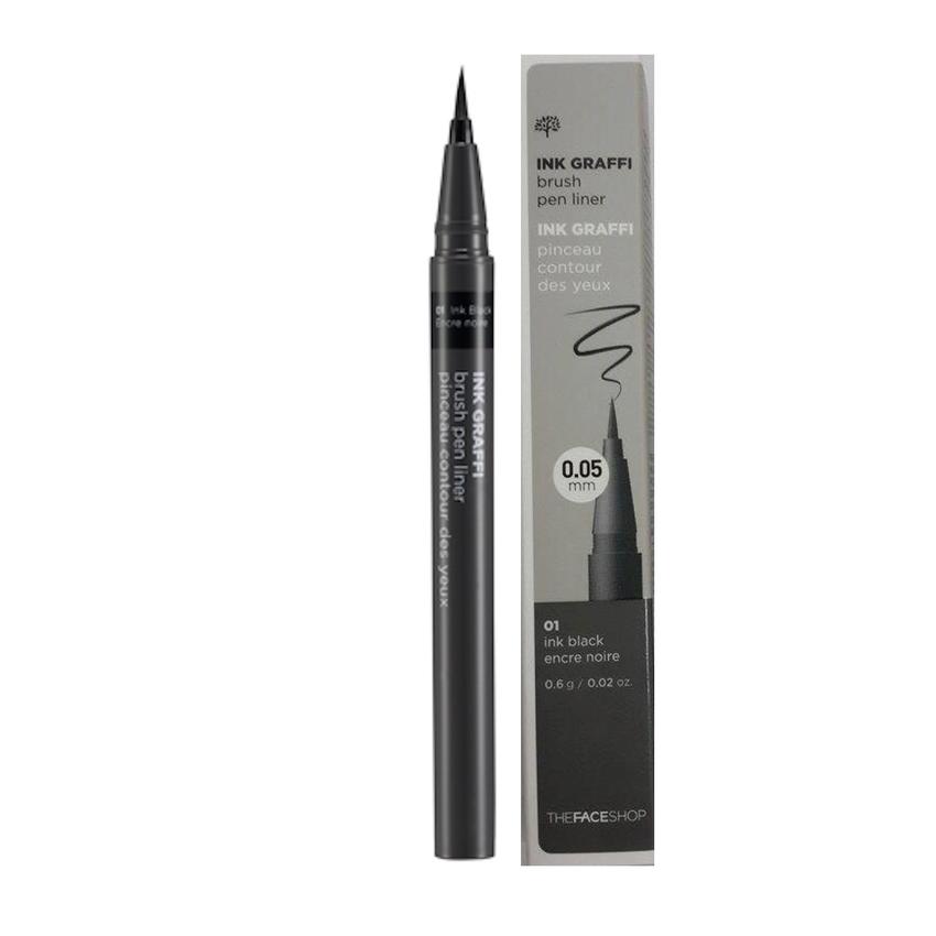 Kẻ mắt nước siêu đen Waterproof eyeliner pen Hàn Quốc