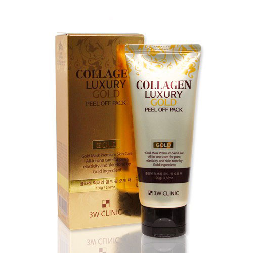 Mặt Nạ Vàng Tinh Chất Collagen And Luxury Gold Peel Off Pack