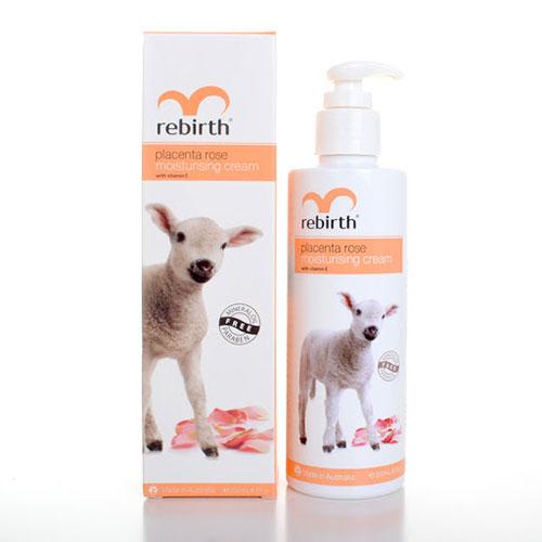 Sữa Dưỡng Thể Nhau Thai Cừu Và Hoa Hồng Rebirth