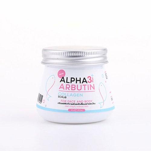 Tẩy Tế Bào Mặt Và Toàn Thân Alpha Arbutin Scrub 3 Plus Thái Lan