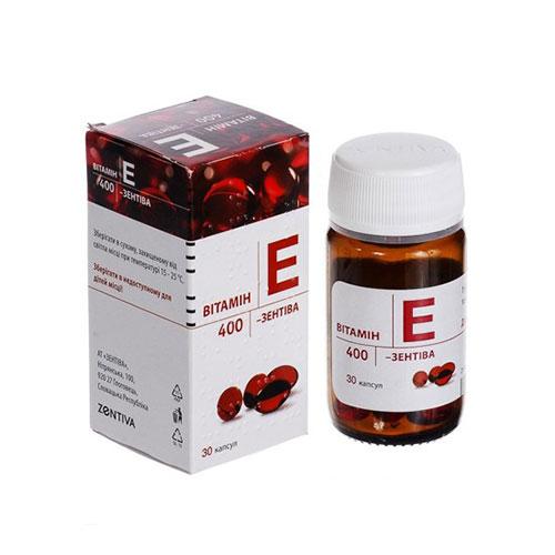 Viên Uống Vitamin E Đỏ Zentiva Đẹp Da Chống Lão Hóa