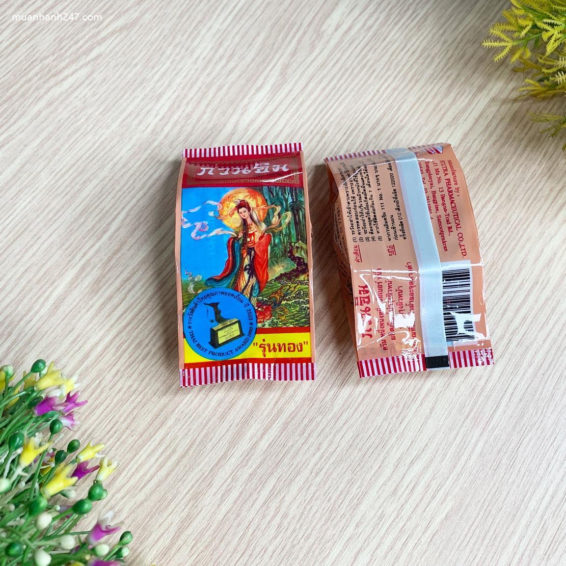 Kem Ngọc Trai Trị Mụn Và Dưỡng Trắng Da Quan Âm Kuan Im Thái Lan-3