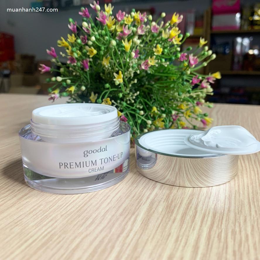 Kem Ốc Sên Dưỡng Trắng Goodal Premium Snail Tone Up Cream(Mẫu Mới 2020)-4