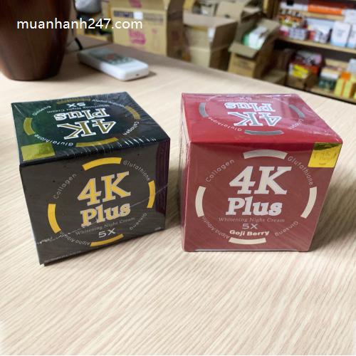 Kem Trị Mụn 4K Plus Acne Goji Berry Thái Lan-3