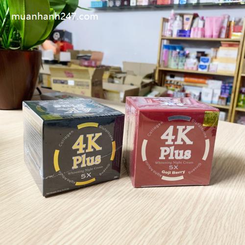 Kem Trị Mụn 4K Plus Acne Goji Berry Thái Lan-4