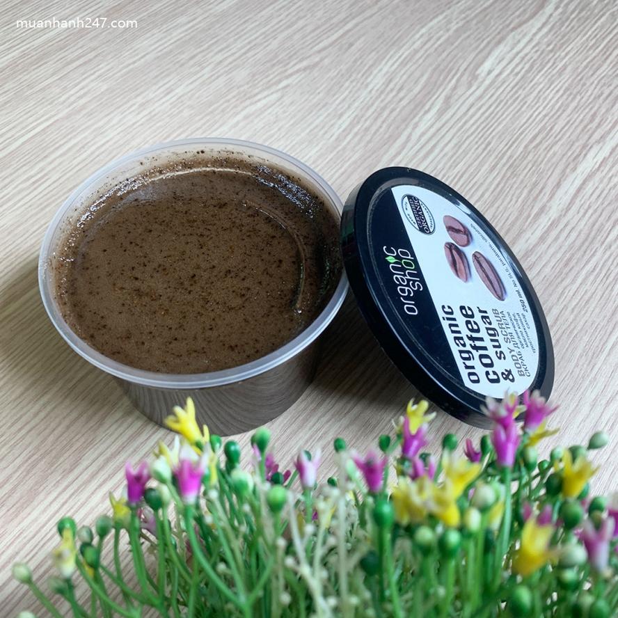 Tẩy Da Chết Toàn Thân Body Scrub Organic Coffee And Sugar Nga-2