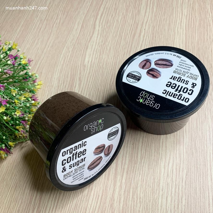 Tẩy Da Chết Toàn Thân Body Scrub Organic Coffee And Sugar Nga-5